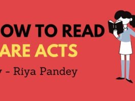 How to Read Bare Act