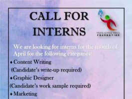 Internship in Young Ignited Minds Foundation