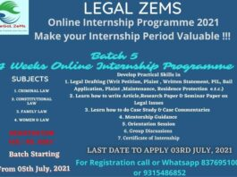 Event By Legal Zems law epic