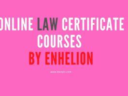 Online Law Certificate Courses by Enhelion
