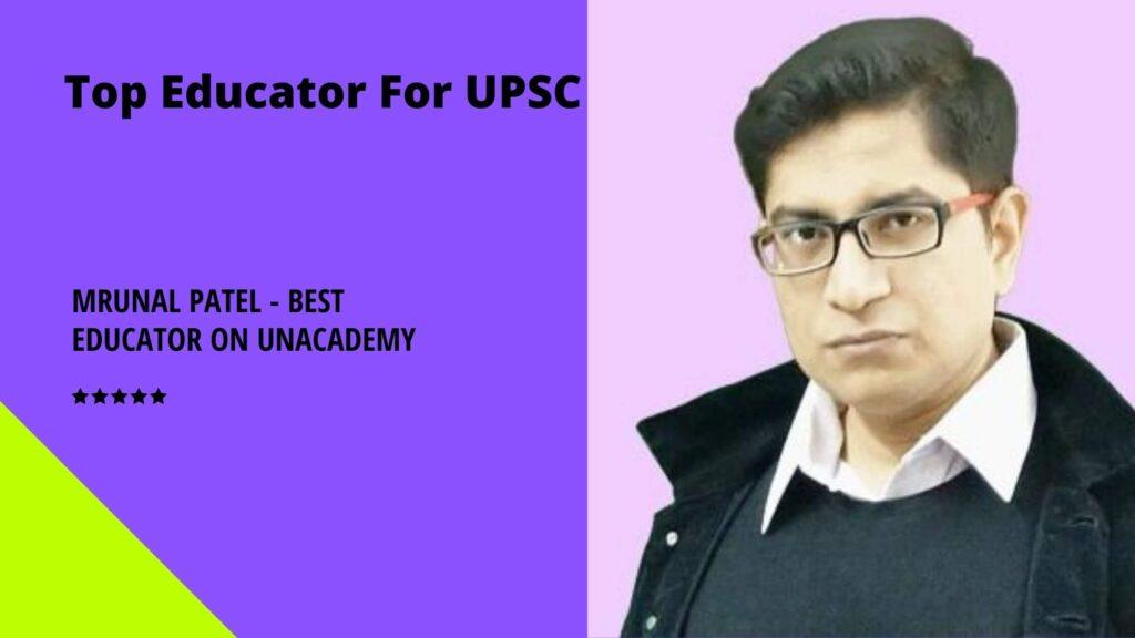 Mrunal Patel - Best Educator on Unacademy
